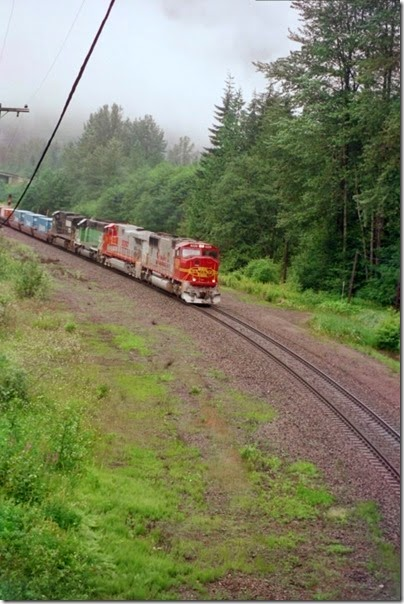 259159491 BNSF SD75M #8229 at Scenic in 2002