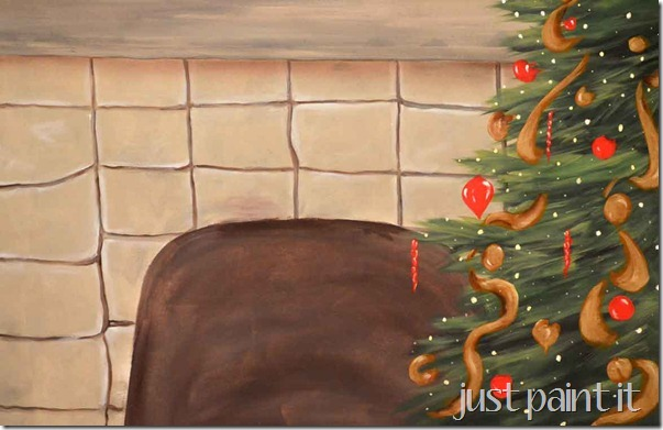 Christmas-Mural-On-Canvas