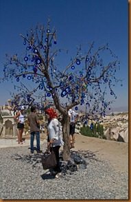 Cappadocia, evil eye tree