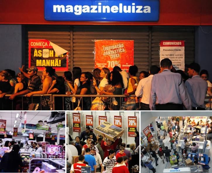 saldao liquidacao magazine luiza 2014