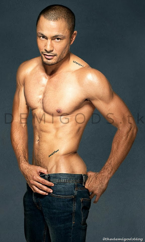 Derek Ramsay shirtless Belo Men