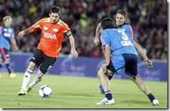 Futbol  La Batalla de las Estrellas Messi y sus amigos vs El resto del mundo
