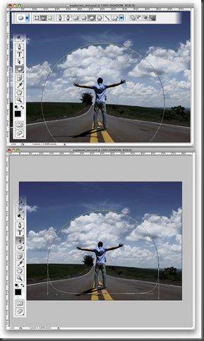 Cara Membuat Efek Perisai Udara Dengan Photoshop7