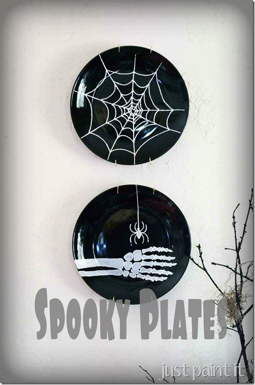DollarStore Spooky Plates
