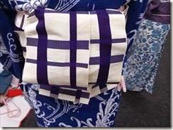 リビングカルチャー着付け練習も半巾帯を (2)
