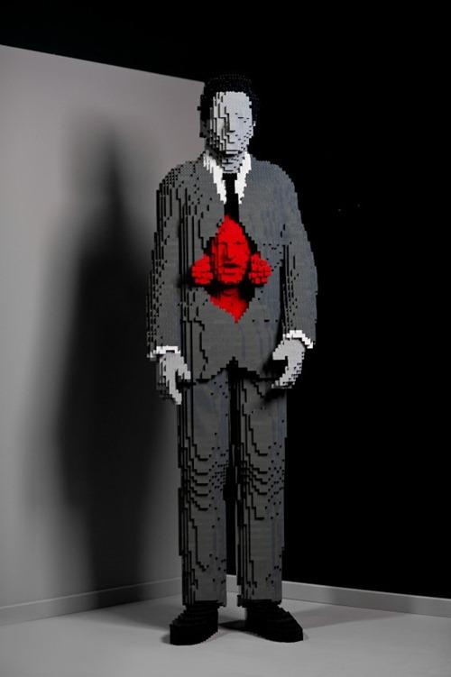 escultura Legos 09
