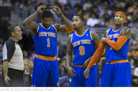 'New York Knicks' photo (c) 2013, Keith Allison - license: https://creativecommons.org/licenses/by-sa/2.0/