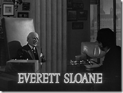 Citizen Kane Everett Sloane