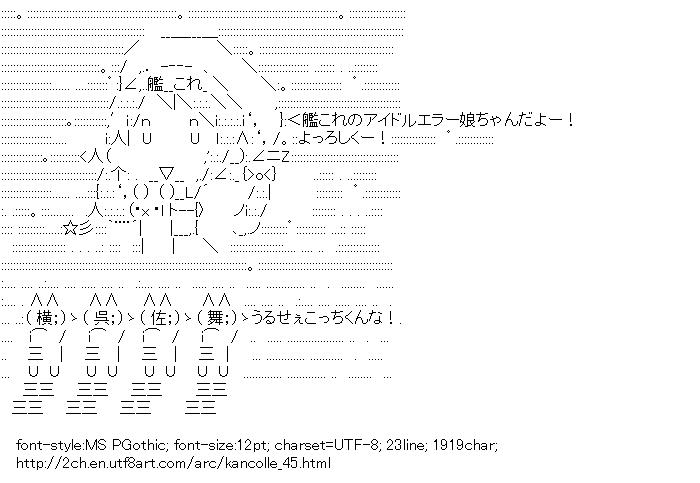 Kantai Collection,Error musume,Absurd