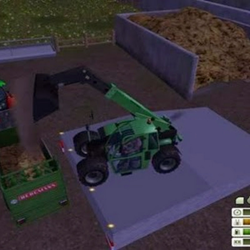 Farming simulator 2013 - Rampa luce Placeable v 1.0