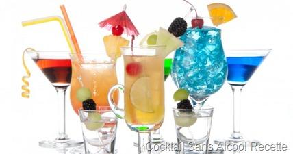 cocktail sans alcool recette