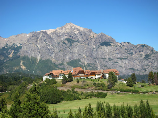 The famous Llao Llao Hotel on Bariloche's Circuito Chico.