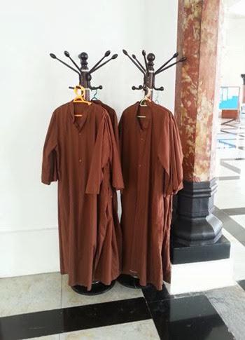 jubah pelawat