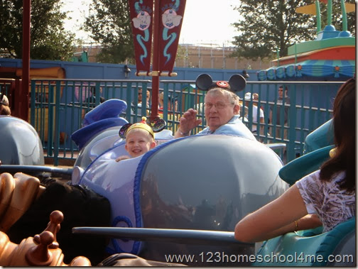 Tips for Grandparents at Disney World