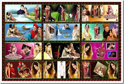 Indian karizma Album Templates