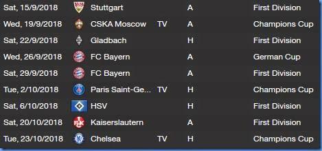 Dresden future matches