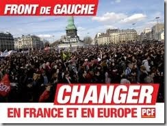 Front de Gauche pour changer d&#39;Europe
