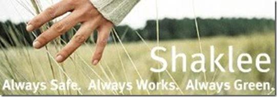 Shaklee Hand on Grass