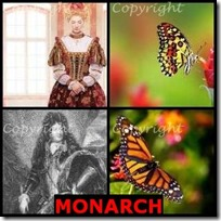 MONARCH- 4 Pics 1 Word Answers 3 Letters