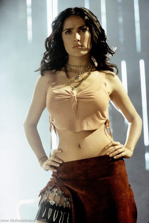 salma hayek linda sensual sexy sedutora gostosa peituda boob tits desbaratinando  (46)