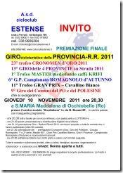 PREMIAZIONE per amatori INVITO-2011_01