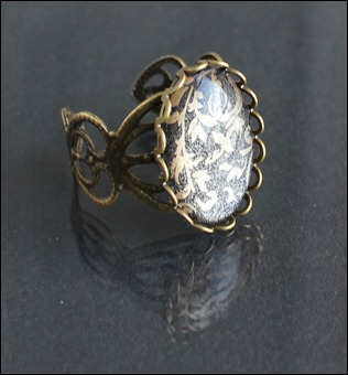 Baroque Schmuck Ring Antik