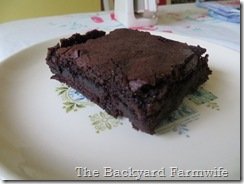 Better Than Box Brownies - The Backyard Farmwife