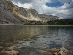 Lake Marie at Medicine Bow National Forest