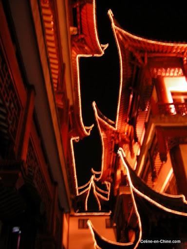Shanghai - Vieille Ville de Nuit