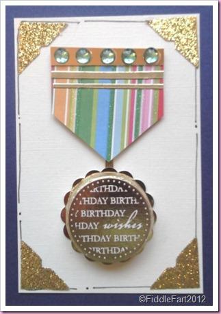 Elizabeth Shaw Mint Birthday medal