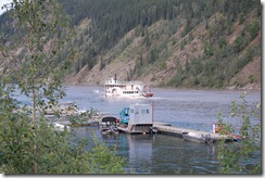 Sidewheeler in Dawson City Yukon