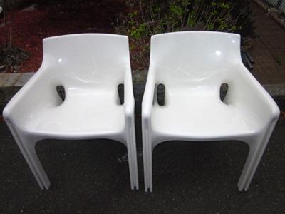 Gaudi armchair, white