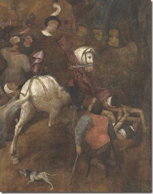 San Martín - El vino de la fiesta de San Martín - Brueguel el viejo