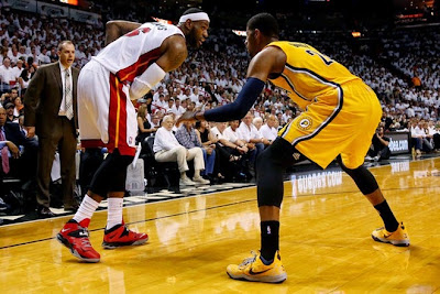 lebron james nba 140530 mia vs ind 26 game 6 Heat Eliminate Pacers, Advance to NBA Finals for 4th Straight Year