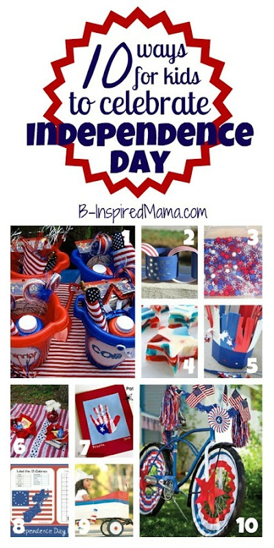 Kids Independence Day Collage