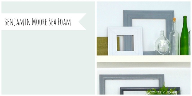 Benjamin Moore Sea Foam (His and Hers)