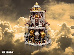"""Steampunk Machine"" LEGO MOC Contest results"