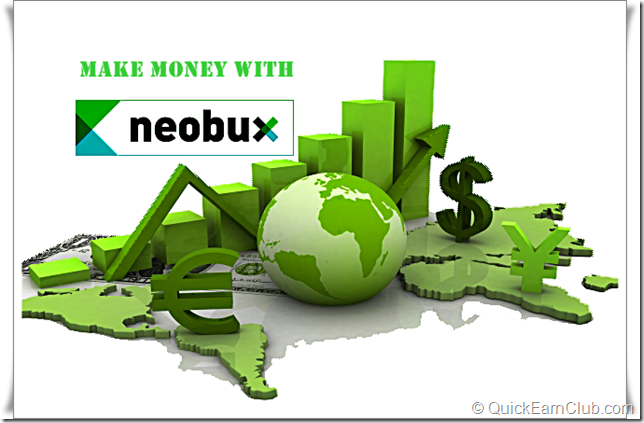 Earn money from Neobux