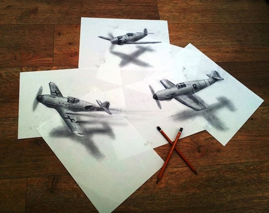Desenhos 3D lápis (6)