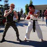 GUILE vs RYU real life match off in Toronto, Ontario, Canada