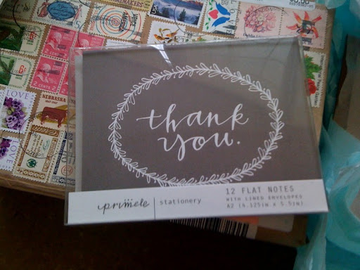 sweet thank you notes that you can find on their etsy shop.