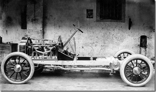 1907  Diétrich, modelo de série 1907. Importado pela Sociedade Portuguesa de Automóveis, Ltda., Lisboa. 30.40 cv. 4 cilindros
