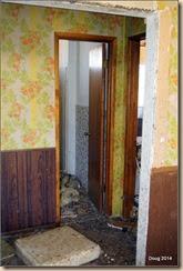 Hall w/bathroom door.