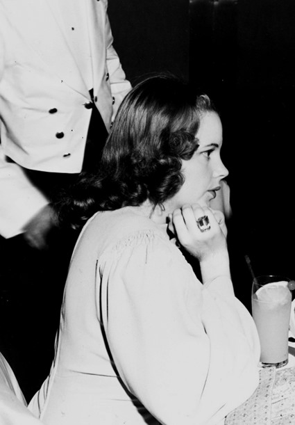Judy at Ciro's Nightclub (ca. 1941)