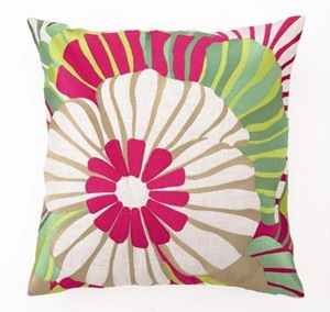 Sea_flower_cushion_-_Red