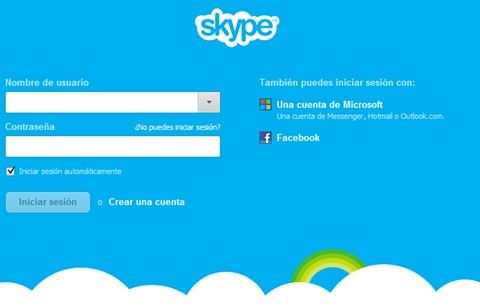 Cómo cambiar Messenger por Skype
