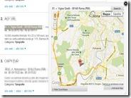 Usare il tasto destro del mouse per vedere su mappa gli indirizzi civici evidenziati