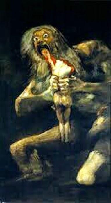 Saturno devorando a sus hijos (Goya)