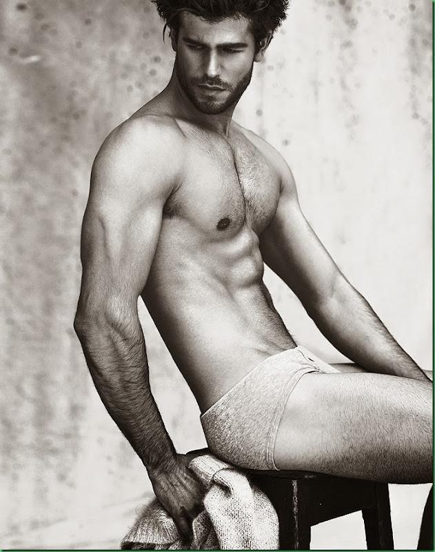 Carlos San Roman photographed by Javier Tomas Biosca