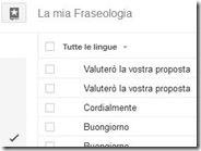 Salva le traduzioni preferite su Google Traduttore con Fraseologia